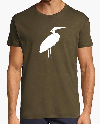 T-shirt airone bianca (uomo)