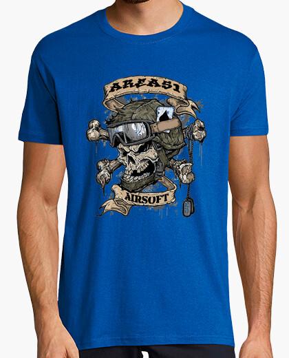 Camiseta Airsoft skull