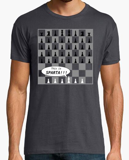 Camiseta Ajedrez esparta