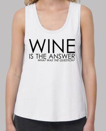 ajustement lâche du vin, blanc