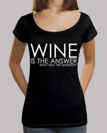 ajustement lâche du vin, noir