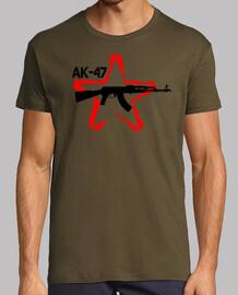 AK47 Stencil Estrella Roja
