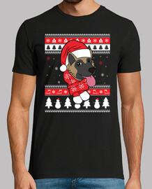 Akita chien de Noël
