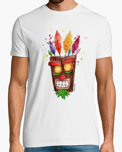 T-shirt Aku aku maschera