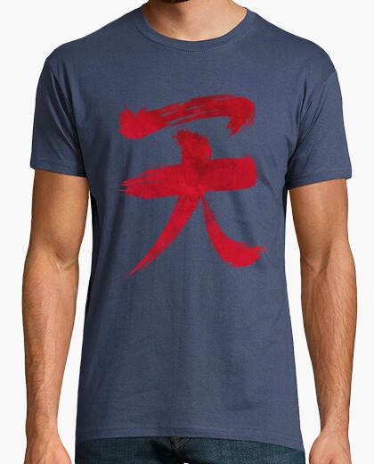 Tee-shirt akuma kanji édition de sang