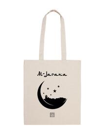 al-jarana, sac en tissu, couleur naturelle