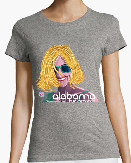 Camiseta ALABAMA TRUE ROMANCE mujer manga...