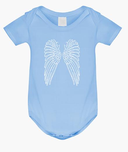 Ropa infantil alas en la espalda