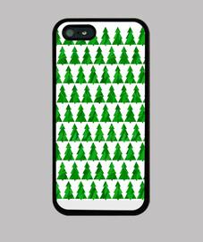 alberi di natale verde