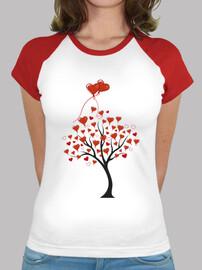 albero avec cuori