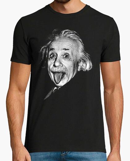 Tee-shirt Albert Einstein (Photo Langue)