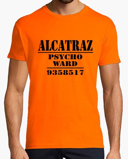 Camiseta Alcatraz psycho ward