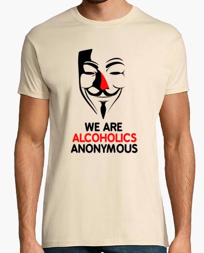 Tee-shirt Alcoholic Anonymous