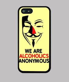 Alcohólico anónimo - iphone