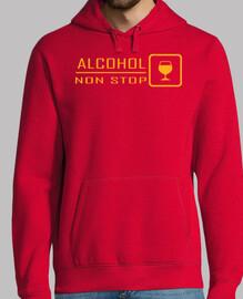 alcool non stop (poitrine et le dos)