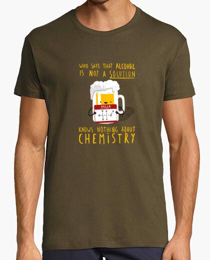 Camiseta Alcool solution