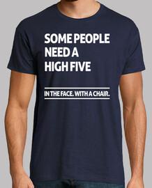 alcune people hanno bisogno di un high cinque