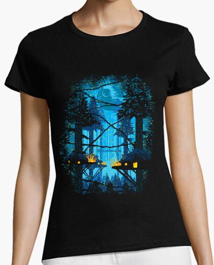Camiseta aldea ewok