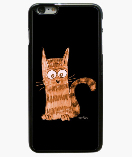 Funda iPhone 6 Plus Alegre gatito