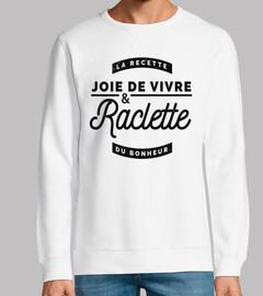alegría de vivir y raclette