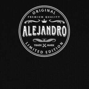 T-shirt alejandro clásico vintage