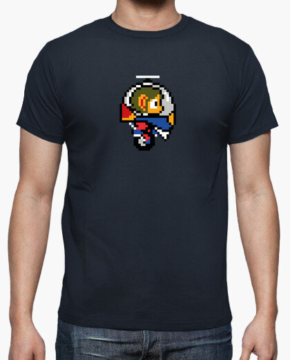 Alex kidd pixel retro ship t-shirt