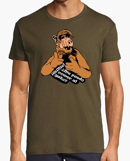 Camiseta Alf - ¡Willie! ¿Me puedo comer al gato?