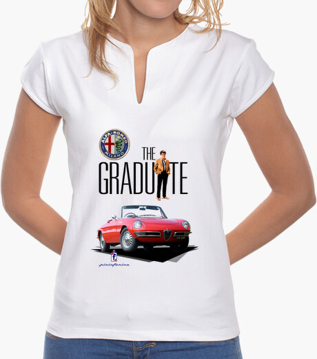 Camiseta Alfa Romeo Spider - The Graduate for girls