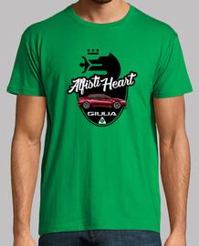 Alfisti Heart Alfa Romeo Giulia QV