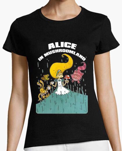 Tee-shirt Alice in Mushroomland