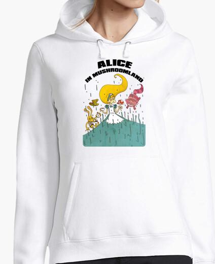 Jersey Alice in mushroomland