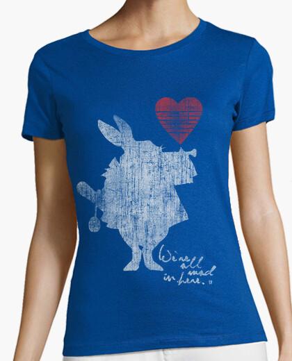Camiseta Alicia Maravillas Conejo