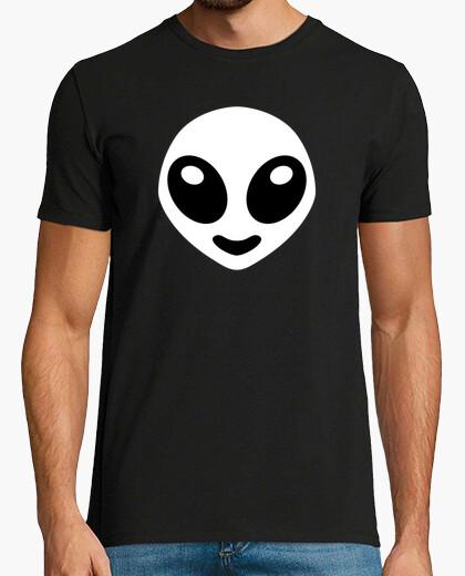 T-shirt alien - bianco