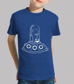 alien - t-shirt pour enfants