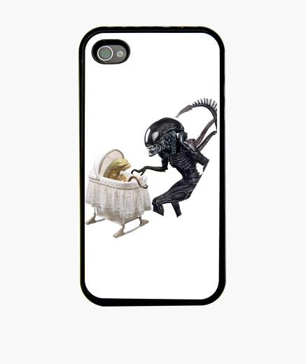 Funda iPhone alien baby