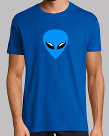 Alien bleu
