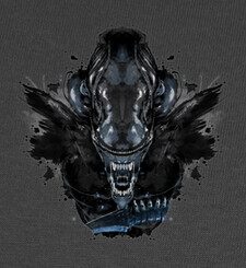 Camisetas Alien Ink