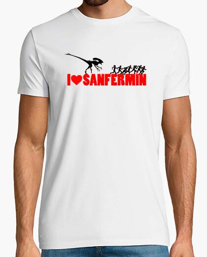 Tee-shirt Alien San Fermin 1