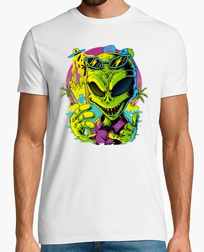 Alien Summer Vibes t-shirt