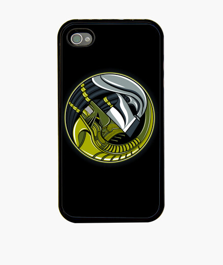Funda iPhone alien yang