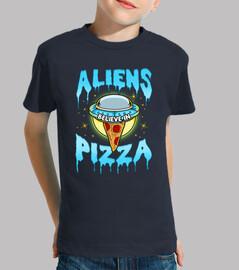 aliens believe in pizza halloween