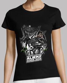 aliens strike back shirt womens