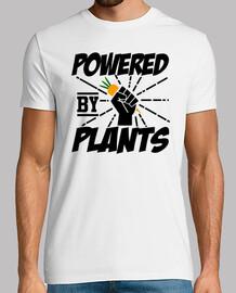 alimentado por plantas