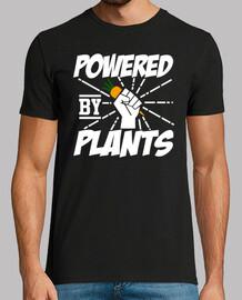 alimenté par des plantes