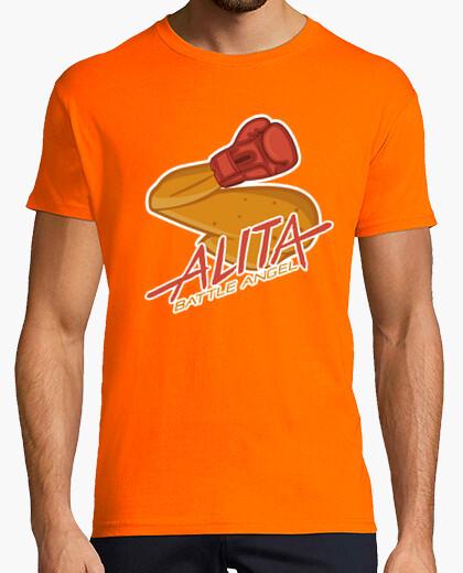 T-shirt alita de com bat e