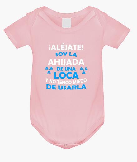 Ropa infantil Aljéjate ahijada de Tía Loca body
