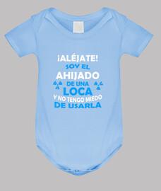 Aljéjate ahijado de Tía Loca bebé