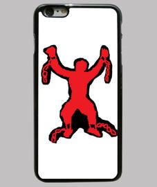 All Chains Are Broken ACAB Funda iPhone 6 Plus, negra