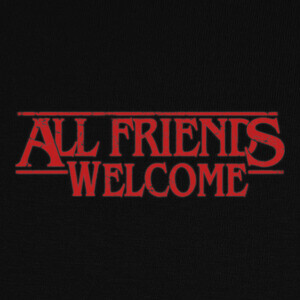 Camisetas All Friends Welcome