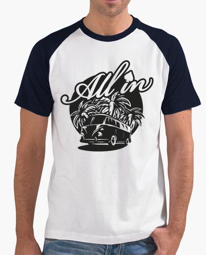 Camiseta All in California
